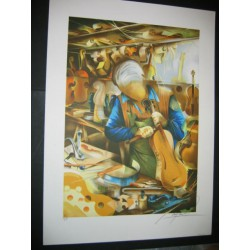 String instrument maker