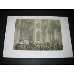 Paris: intérieur de Notre Dame