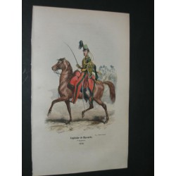 Capitaine de Hussards. 1846