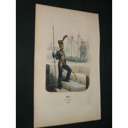 Marin. Garde Impériale.  1810