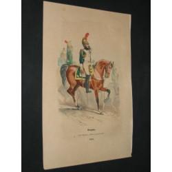 Dragons. Garde Impériale. 1810