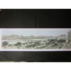 Vue panoramique de Lyon.