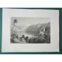 Castle of Spiez, lake of...