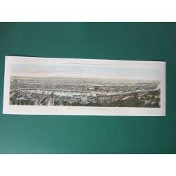 Vue panoramique de Lyon...
