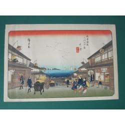 Estampe japonaise de 1930...