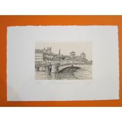 Pont Bonaparte, vieux Lyon