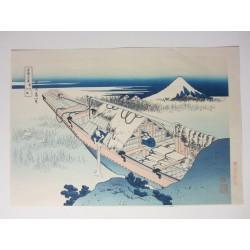 36 Vues du mont Fuji, from...