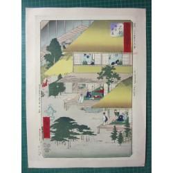 Estampe japonaise. Hiroshige.